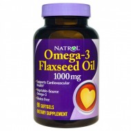 Omega-3 Flaxseed Oil 1000мг 90 капсул